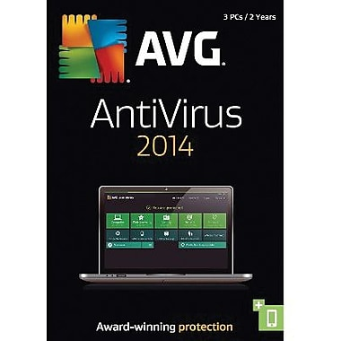 AVG AntiVirus 2014, 2-Year for Windows (1-3 Users) [Download]