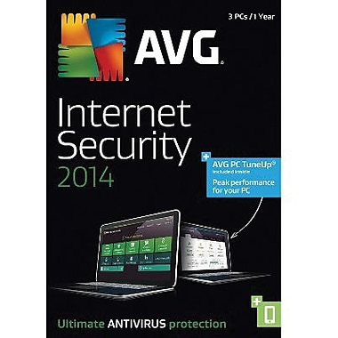 AVG Internet Security + PC TuneUp 2014, 1-Year for Windows (1-3 Users) [Download]