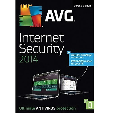 AVG Internet Security + PC TuneUp 2014, 2-Year for Windows (1-3 Users) [Download]