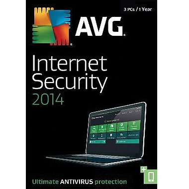 AVG Internet Security 2014, 1-Year for Windows (1-3 Users) [Download]
