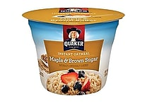 Quaker&reg Oatmeal Express™ Brown Sugar, 1.9 oz. Cups, 24 Cups/Case