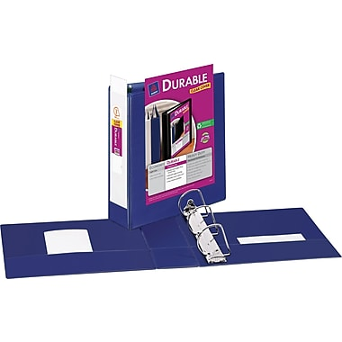 3in. Avery® Durable View Binders with Slant-D™ Rings, Blue