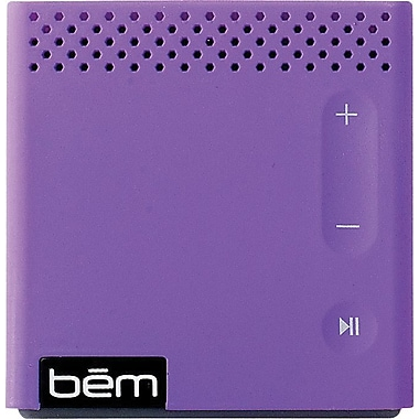 Bem Wireless Bluetooth Mobile Speaker, Purple