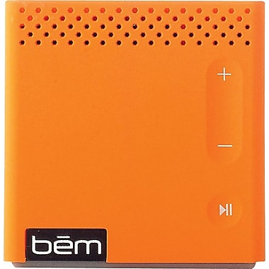 Bem Wireless Bluetooth Mobile Speaker, Orange