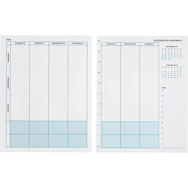 Martha Stewart Home Office™ with Avery™ 2014 Discbound Calendar Insert, 5-1/2in. x 8-1/2in.