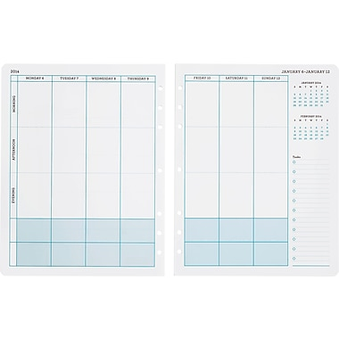 Martha Stewart Home Office™ with Avery™ 2014 Calendar Insert, 5-1/2in. x 8-1/2in.
