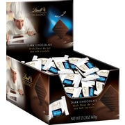 Lindt® Excellence Diamonds: A Touch of Sea Salt Box, Dark Chocolate, 60 Piece