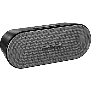 HMDX Audio Rave™ Rechargeable Bluetooth® Speaker, Black/Grey