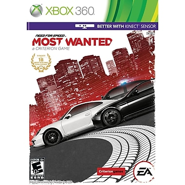 Electronic Arts™ Need For Speed Most Wanted, Racing, Xbox 360®