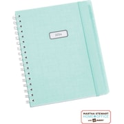 Martha Stewart Home Office™ with Avery™  2014 Wirebound Planning Calendar, Blue Linen, 7 x 9