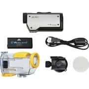 Midland XTC260VP3 HD Wearable Action Camera, Black/Silver