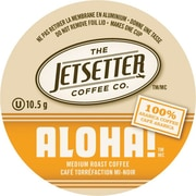 Jetsetter Coffee Co., Aloha!™ Coffee, Single Serve Cups, 18/Pack