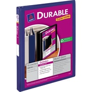 1/2 Avery® Durable View Binders with Slant-D™ Rings, Blue