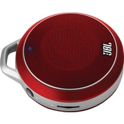 JBL Micro Wireless Bluetooth Speaker, Red