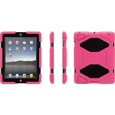 Griffin Survivor iPad 2/3/4 Case, Pink/Black
