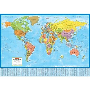 MapArt World Map, 28