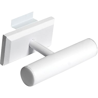 T-Bar Slatwall, White, 7-1/2