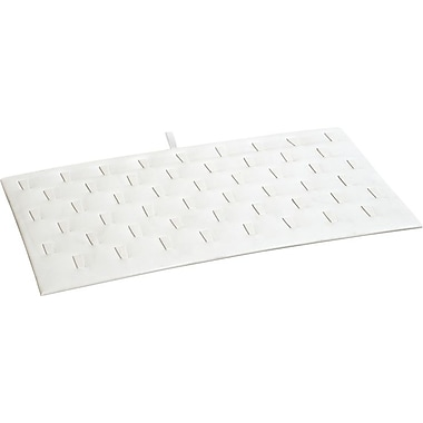 51 Ring Insert, White Leatherette, 14-1/8