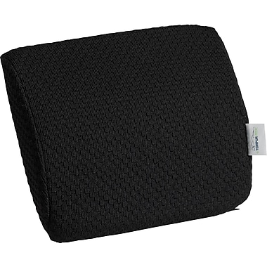 Tempur-pedic® Travel Lumbar Cushion with Fabric Cover, Black