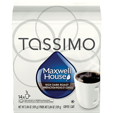 Maxwell House – Torréfaction corsée, recharges T-Disc, paq./14