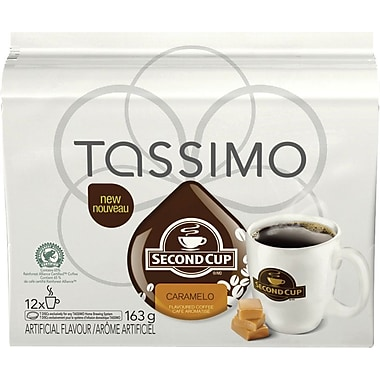 Second Cup® Caramelo T-Disc Refills, 12/Pack