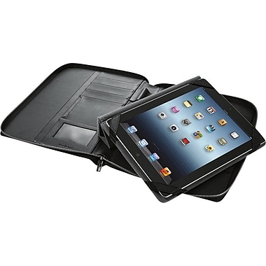 Brookstone® Leather Folio for iPad® Tablets