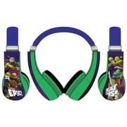 Sakar International Teenage Mutant Ninja Turtles Kids Friendly Headphones