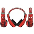 Sakar International Spider-Man Kids Friendly Headphones