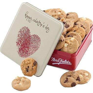 Mrs. Fields Valentine's Day Cookie Tin
