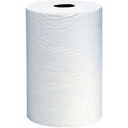 Scott® Hardwound Paper Towel Rolls, White, 1-ply, 12 Rolls/Case