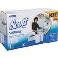 Scott® Slimroll™ Paper Towel Starter Kit with White Dispenser