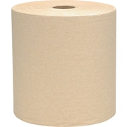 Scott® Hardwound Paper Towel Rolls, Natural, 1-Ply, 12 Rolls/Case
