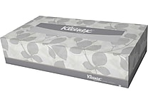 Kleenex® Flat Box Facial Tissue, 2-Ply, 36/Case