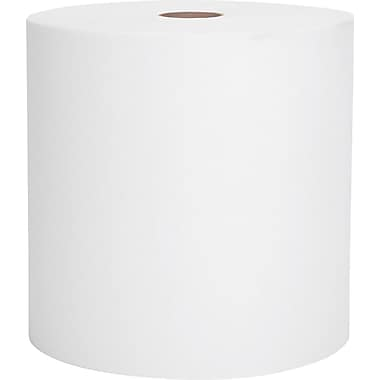Kimberly-Clark Scott Nonperforated Paper Towel Roll, 1-Ply, White, 8in.(W) x 1000'(L)