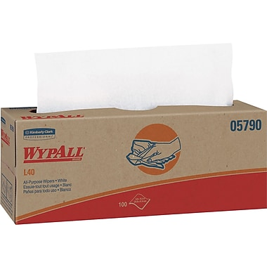 Kimberly Clark® WypAll® L40 Wipers, 9 Packs/Case