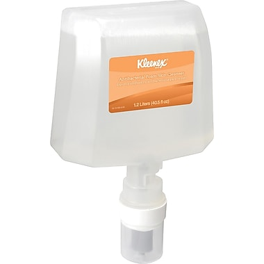 KLEENEX® Antibacterial Foaming Skin Cleanser, Refill, 1,200 ml.