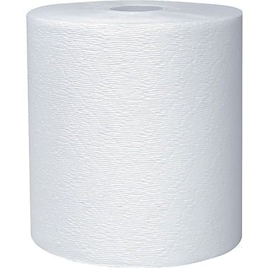 Kleenex® Hardwound Paper Towel Roll, 600', White, 1-Ply, 6 Rolls/Case