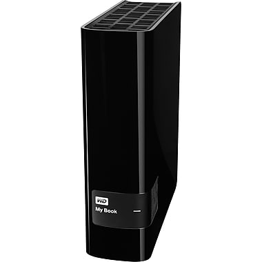 Western Digital® 3TB USB 3.0 My Book External Hard Drive, Black