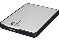 WD 2TB My Passport Slim Portable Hard Drive (Silver)