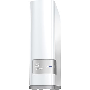 Western Digital® 3TB USB 3.0 My Cloud NAS External Hard Drive, White