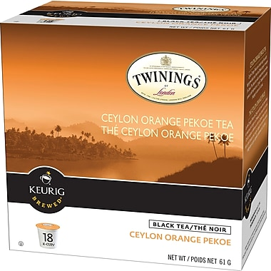 Twinings of London Ceylon Orange Pekoe Tea K-Cup Refills