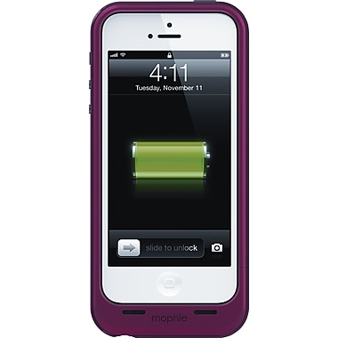 Mophie Juice Pack® Plus Rechargeable iPhone 5 Battery Case, Product Red (2112JPPIP5RD)