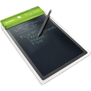 Brookstone® Brookstone Boogie Board™ LCD Writing Tablet with Stylus Holder, Green