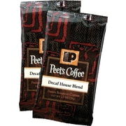 Peet's® Decaf House Blend Ground Coffee Portion Packs, 2.5 oz., 18 Packs/Box
