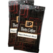 Peet's Coffee® Major Dickason's Blend® Ground Coffee Portion Packs, 2.5 oz., 18 Packs/Box