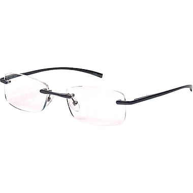 Foster Grant® Aluminum Reading Glasses, Rimless, 2.00 Diopter