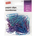 Staples® Jumbo Paperclip 50 PK - Metallic