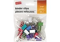 Staples® Binder Clip Small 25 PK - Fashion