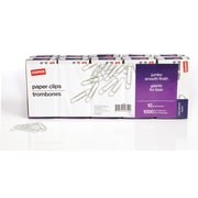 Staples® Jumbo Paper Clips, Smooth, 1,000/Pack