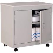 Sandusky Mobile Steel Utility Cabinet, Dove Gray